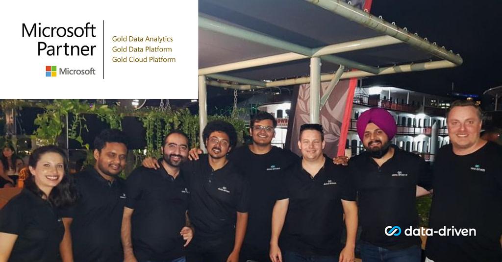 Data-Driven Team - Microsoft Gold Partner - Gold Cloud Platform