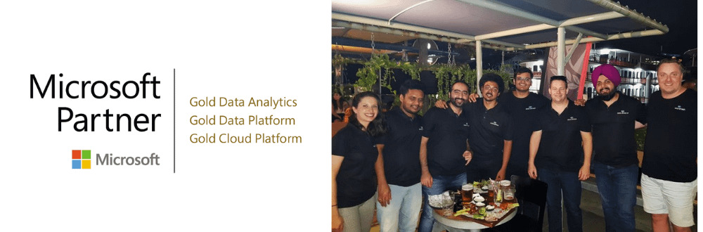 Microsoft Gold Partner - Data Analytics and Data Plataform and Cloud Platform