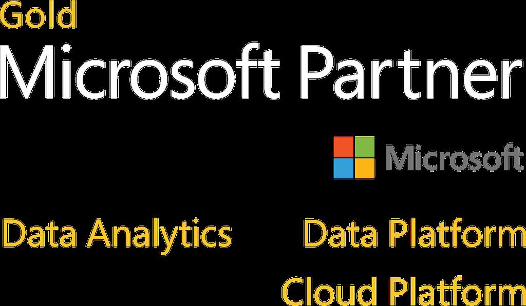 Microsoft Gold Partner - Data Analytics and Data Platform and Cloud Platform