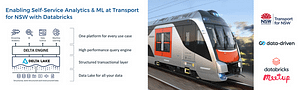 Databricks Meetup - Enabling Self-Service Analytics & ML at Transport for NSW with Databricks